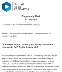 Regulatory Newsletter1