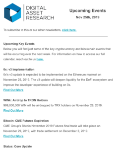Weekly Newsletter 1