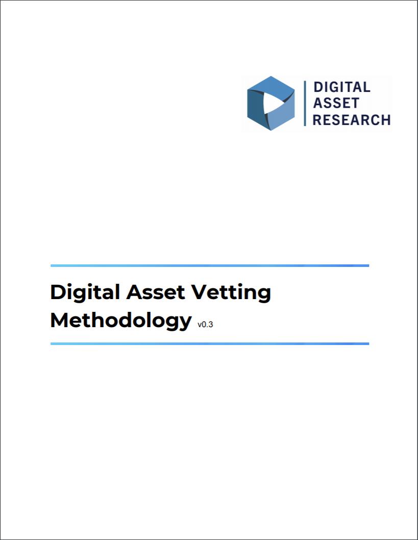 DAR Digital Asset Vetting Methodology